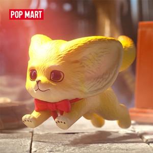 Pop Mart Yoyo The Kenneth Fox Series Animal Story Toys Figuras Caja de cumpleaños Cumple Cumpleaños Envío gratis LJ201031