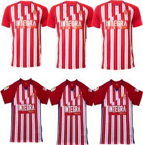 Nuevo 2021 Sporting Gijón Soccer Jerseys Gijon 2020 Manu García DjurdJevic Djuka Carmona Aitor G. JS Babin Aitor G. D.Pérez Camiseta de Fútbol