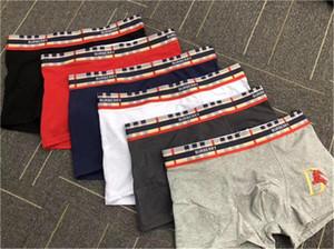 Búrberry Ethika colors Short Mens Flat-Angled Underwear Design Boxer Men's Cotton Underwear Short For Men Sexy Underwears