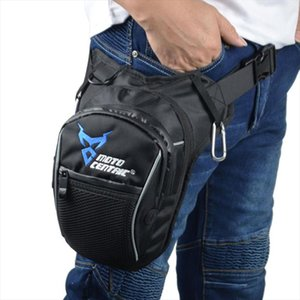 Men Waterproof Oxford Waist Drop Leg Bag Thigh Hip Bum Belt Fanny Pack Casual Shoulder Bag Motorcycle Ride Outdoor Running Sport