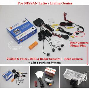 Liislee İçin Latio / Livina Geniss-Car Park Sensörleri Arka Görüş Kamerası = 2 1 Görsel / Bibi Alarm Park Sistemi In