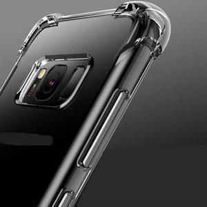 Caso de telefone à prova de choque para Sony Xperia L4 1 10 II 5 8 Silicone Clear Cover