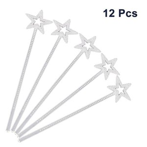 12pcs Party Decor Star Sticks For Girls Costume Props Star Magic Wand Angel Fairy Wands Star Fairy Stick Princess Wands A35 bbymFN lg2010