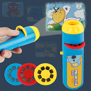 Children's Toy Camera Portable Flashlight Projection Realistic Toys The Animal World Action Toy For Kid Education Toy