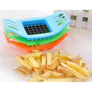 Device Cut Fries Kit French Fry Yarn Cutter Set Potato Carrot Vegetable Slicer Chopper Chips Making Tool