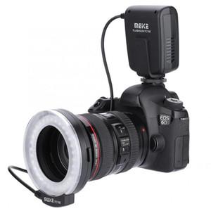 Meike FC100 FC100 Handbuch LED Makro-Ringblitzlicht with8 Adapter-Ring für Pentax Digital-DSLR-Kamera