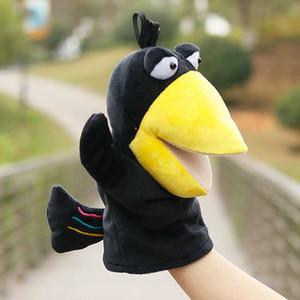 SET / Stücke Fox Crow Puppet Handschuhe Waldtierreich Märchen Handpuppe Handpuppe Spielzeug