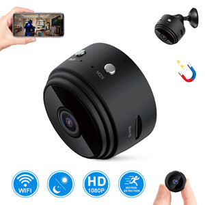 Micro Home Wireless Video CCTV Mini Security Surveillance مع WiFi IP Camara الاستشعار الأشعة تحت الحمراء CMOS 2MP Telefon Alarm Camera