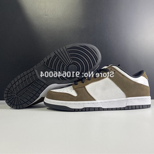 Wholesale SB Dunks X Trail End Low mens Brown Snake PRO Sneakers suede anti slippery casual shoes 304292-102 US 5-11 NO BOX