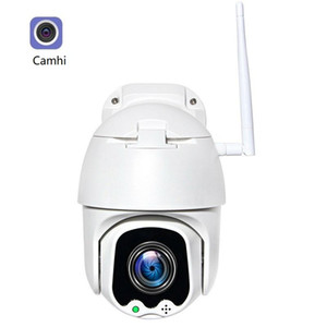 5MP 와이파이 자동 추적 PTZ 카메라 야외 무선 5MP IP 카메라 자동 추적기 IR 초점 CCTV ONVIF 2-WAY 오디오 Camhi