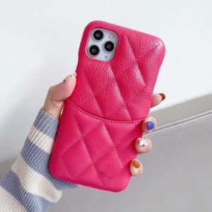 Designer Wallet Case telefone para Iphone12Promax 12Pro 12 11Promax 11Pro XR XSMAX X 7P / 8P Caso 7/8 Telefone com Moda Cartão de bolso