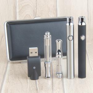 Preriscaldamento 510 Thread Batteria Penna di cera per cartuccia ceramica Kit Preriscaldamento 350mAh Batterie Penna Penna Penna Penna per sigarette elettronico Caso di metallo