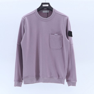 20ss Mens Sweatshirt Hoodie dos homens Casual Topstoney Empresa Streetwear Cyberpunk clássico O-pescoço Pullover soltas manga comprida Jumper