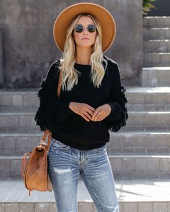women clothes Casual tassel real sweater fashion lady sweater European and American fashion women