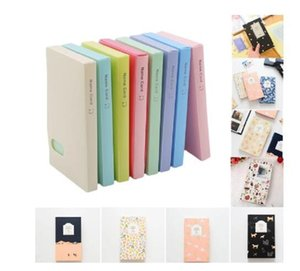 120 Pockets Solid Color DIY Stickers For Photo Albums Frame Decoration Scrapbooking Photo Album Photo Card ID Holder