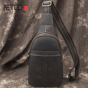 HBP AETOO старинная кожаная мужская сумка