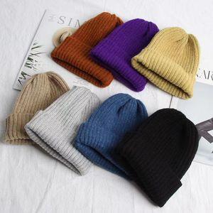 16 цветов Новые моды шапочки шапки капота зимняя фаната вязаная шерстяная шляпа плюс бархатная крышка черепахи шляпы роскошные шапка Casquette de дизайнерская крышка