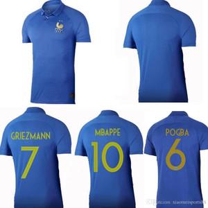 Französisch 1919 2019 Special Edition Hundertjähriger Fußball Jersey Henry 19 20 MBAPPE 100th Frances MAILLOT DE FUSE Zidane Football Hemden