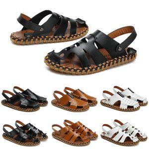 new sandal shoes for men women slippers designer platform runner triple black summer fashion outdoor house slide mens womens sneakers size