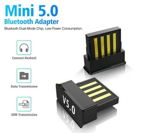 Mini USB Bluetooth 5.0 Wireless Audio Music Stereo Adapter Dongle Receiver For TV PC Laptops