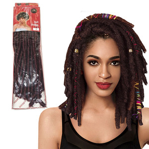 Wendyhair Synthetic Dreadlocks Dreads Crochet Hair Goddess Faux Locs Braids Twist High Heat Resistant Synthetic Hair Wholesale Good Feedback