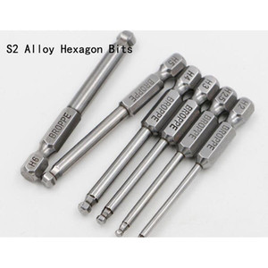 s2 alloy steel high quality power electric drill bits screwdriver ball bits 65-150mm hex wrench screwdriver bit