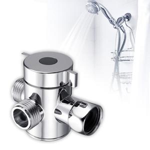 다기능 3 방식 샤워 헤드 다이 버터 밸브 G1 / 2 3 기능 스위치 어댑터 커넥터 T- 어댑터 용 화장실 비데 샤워기 1