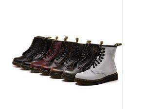 2020 otoño y el invierno de cuero nueva cargadores de Martin tubo corto botas de las mujeres al por mayor de 7 colores de color rub botas de cuero modelos de pareja
