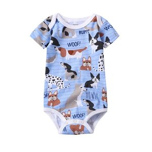 2020 NEW Summer Bodysuit Baby Jumpsuit Clothes Boy Cartoon Infant Newborn Girl Clothing Overall short sleeve