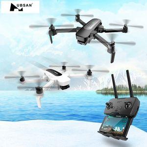 Hubsan H117S ZINO GPS GPS 5.8G 1km Brazo plegable FPV con cámara de 4K UHD Cámara de 3 ejes Gimbal personalizada RC DRONE Quadcopter RTF High Speed LJ200827