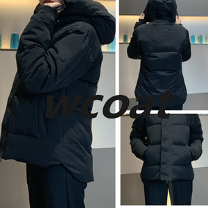 Зима Fourrure вниз куртка Homme Jassen Daunejacke верхняя одежда большой мех с капюшоном Fourrure Manteau Канада пуховик пальто Sno Hiver меховое пальто