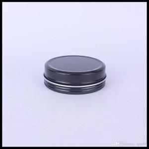 100G красный черный пустой алюминий может контейнерные металлические оловянные банки с внутренними лайнерами для хлопковой катушки и свечи