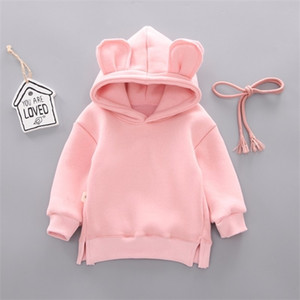 New Spring Autumn Baby Boy Girl Clothes Cotton Hooded Sweatshirt Children's Kids Casual Sportswear Infant Leisure sport Clothing 1006