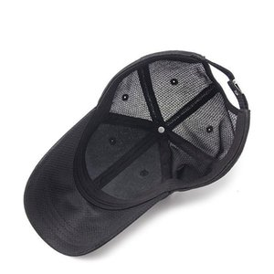 2018 Solid Summer Baseball Cap Men Snapback Women Quick Dry Mesh Cap Breathable Sun Hat Bone Masculino Trucker Cap H sqczUH