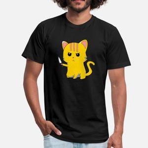 Cute cat with knife T Shirt Cute Popular Trendy Tracksuit Hoodie Sweatshirt