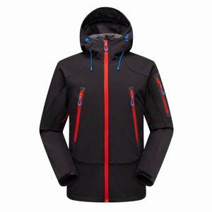 Moda-Yüz Kuzey Mens Tasarımcısı Kış Coat Casual Katı Renk Ceket Atletik Kapşonlu WINDBREAKER Sıcak yumuşak kabuk Coat Ücretsiz Kargo 1460