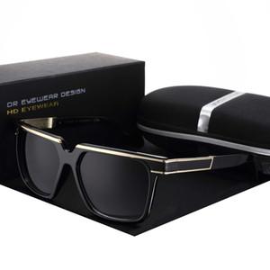 Yvan Metal New Retro Coating Eyewear Women Men Sunglasses Sun Glasses Vintage Fishing Brand Designer Poly Frog Mirror Decorate