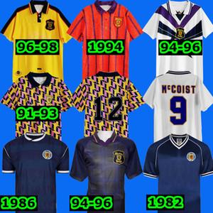 1982 1986 1991 1991 1994 Scotland International McCoist Fussball Jersey McAllister 1996 1998 Classic Vintage Scotland Retro Football Shirt