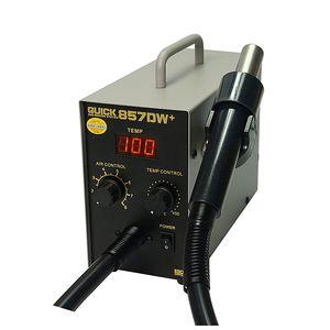 Быстрый 857DW + 580W горячий воздушный пистолетной станция с нагревателем BGA Rework Station SMD Reword Паяльная станция