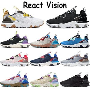 React vision mens shoes sneakers foam desert oasis black iridescent white antracite honeycomb photon dust pink volt women sports trai