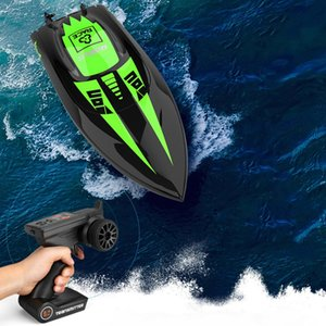 UdiR C UDI908 RC Ship 2.4G 40km h Brushless High Speed Double-Layer Waterproof Remote Control Boat Toy with Water Cooling System