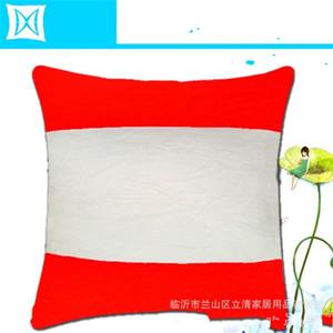 Сублимационные пустые спальные подушки-подушки Plush Горизонтальные орфографические Термическая передача Печатка Цветовая подушка с сердечником 40 * 40см 7 8 мм J2