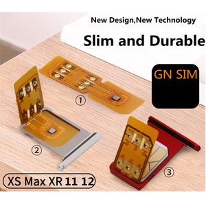 GN SIM Unlocking Chip for iphone6s 7 8 x Unlock 5G support update iOS 14 ICCID Mode GNSIM