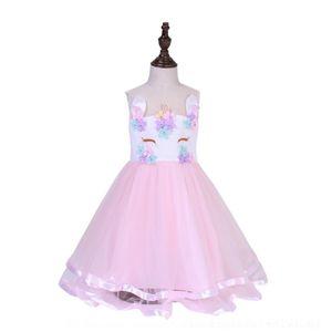 ZZMS 여름 소녀 스팽글 Vestidos Fille Enfant Kids Birthday Tulle Outfits 어린이 유아 소녀 의류 아기 키즈 학교 드레스 가운