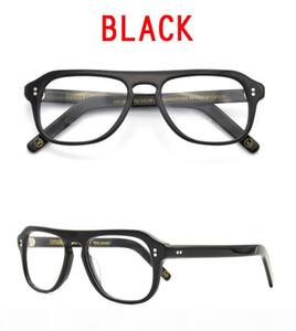 Kingsman Glass Vingtage Optical Frames Black Retro Acetate prescription eyewear acetate eyeglasses frame for Men