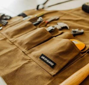 Impermeabile a prova di pittura a olio sporco grembiule Grembiule regolabile Heavy Duty lavoro Grembiule donne degli uomini con Pocket Cross-Back cinghie LF958 JHkg #