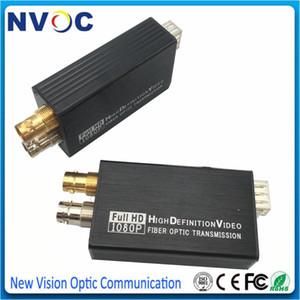 Completo Mini tipo 1 Cro bidireccional HD-SDI 1080P @ 30 de fibra óptica vídeo transmisor y receptor del convertidor, SM BIDI SFP LC 20KM