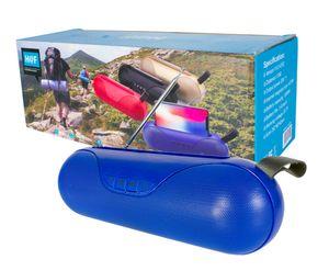 Bocina Bluetooth Portátil Cilíndrica Con Sonido 360°