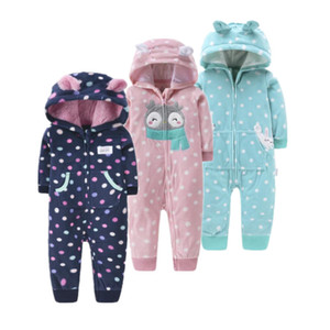 Orangemom official store 2020 spring baby rompers soft fleece baby girl clothes , one- pieces girls coat 1-2Y baby clothing set C0126