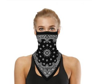 Outdoor Face Cover Cycling Mask Fashion Printed Bib Scarves Multi Functional Seamless Quick Dry Hairband Head Scarf Bandana 5Bvge